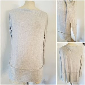 Free People We The Free Tunic Top Sz S Gray